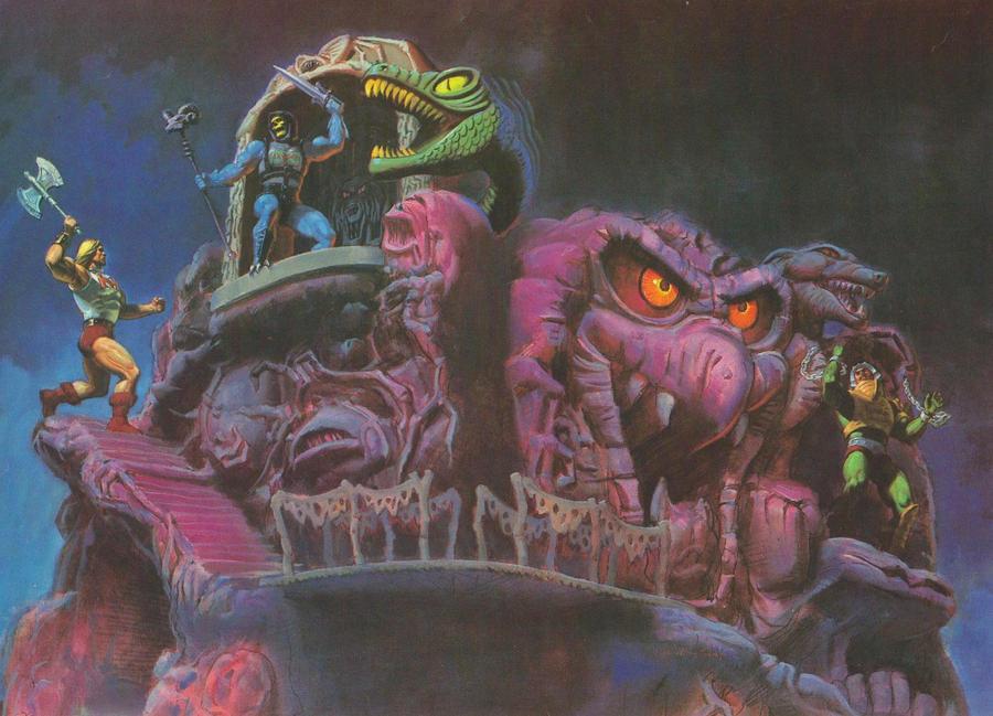 He-man Snake Mountain