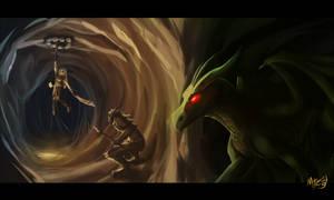 First Dragon Hunt by Marcotonio-desu