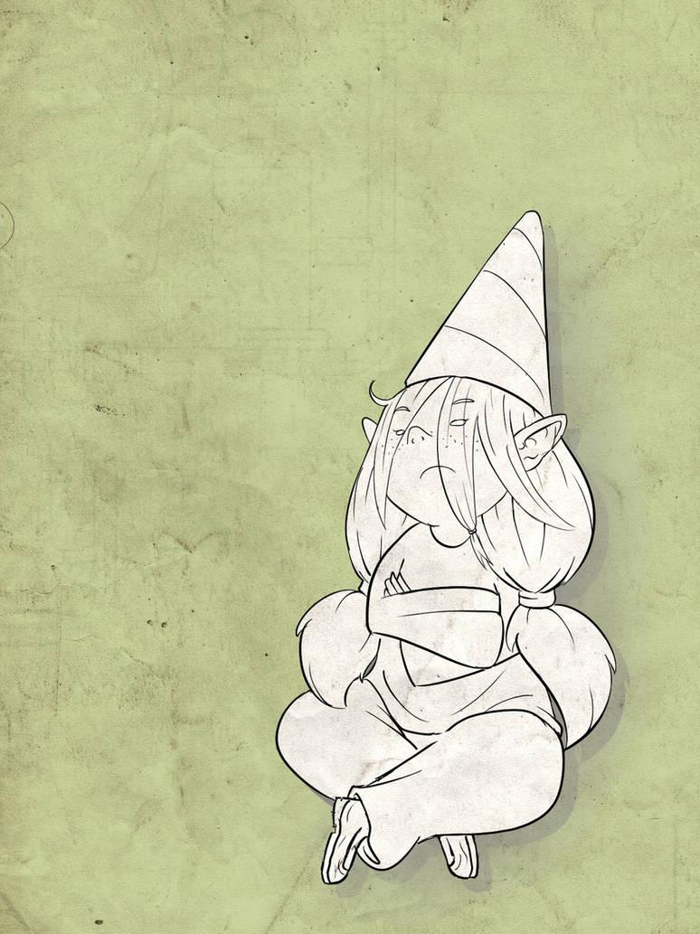 Grumpy Gnome by Marcotonio-desu