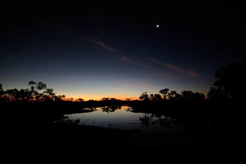 Outback After Sunset by Thrill-Seeker
