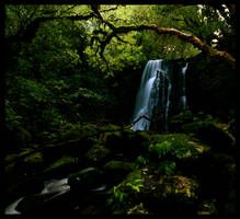 Matai Falls, South NZ by Thrill-Seeker