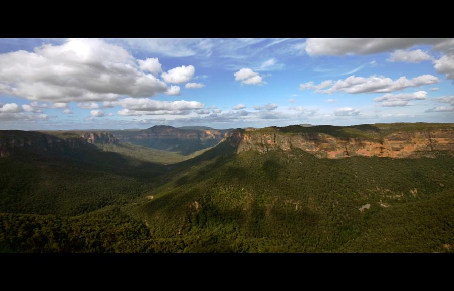Blue Mountains Australia by Thrill-Seeker