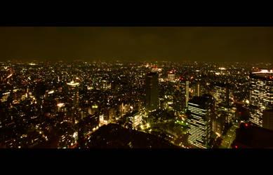 Tokyo Skyline 02 by Thrill-Seeker