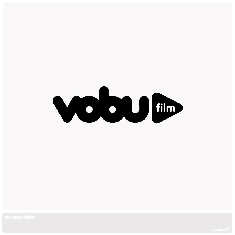 VoBuFilm Logotype: Concept One by Thrill-Seeker
