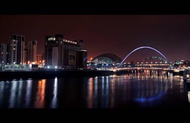 River Tyne, Newcastle, England by Thrill-Seeker