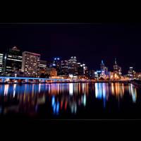 The Yarra, Melbourne Australia by Thrill-Seeker