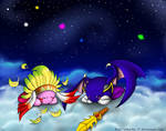 Kirby and Meta Knight - Flying Dreams