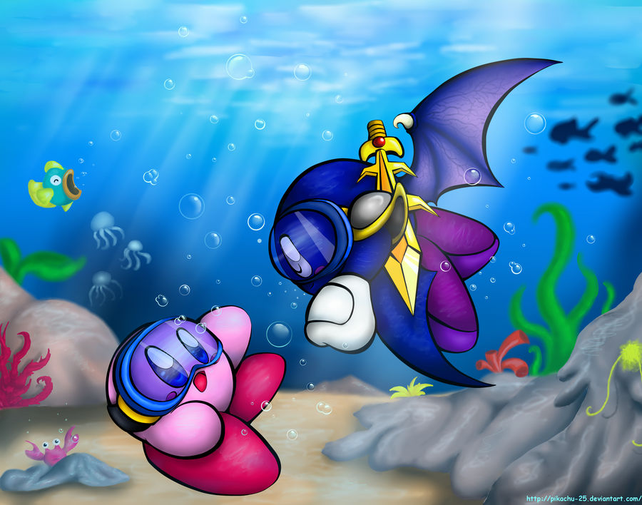 Kirby and Meta Knight - Onion Ocean Love