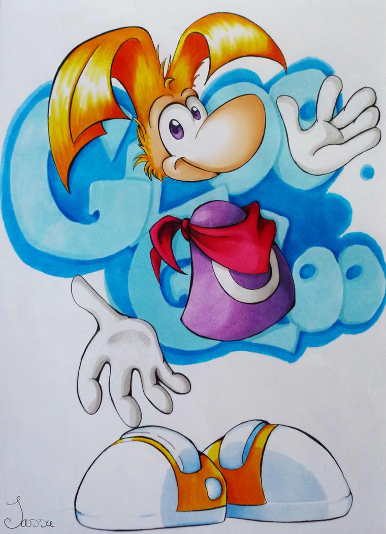 Rayman - Gloo Gloo by pikachu-25