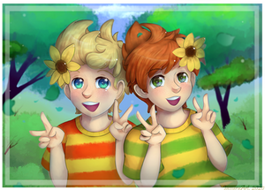 Mother 3 - Sunflower Twins