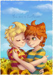Mother 3 - Sunflower Twins II by pikachu-25