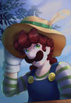 Luigi - Here Comes the Sun by pikachu-25