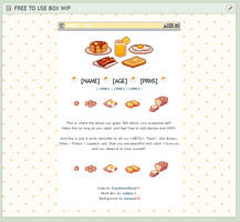 [Page Thingy] Breakfast Custom Box [F2U] by vvindows98
