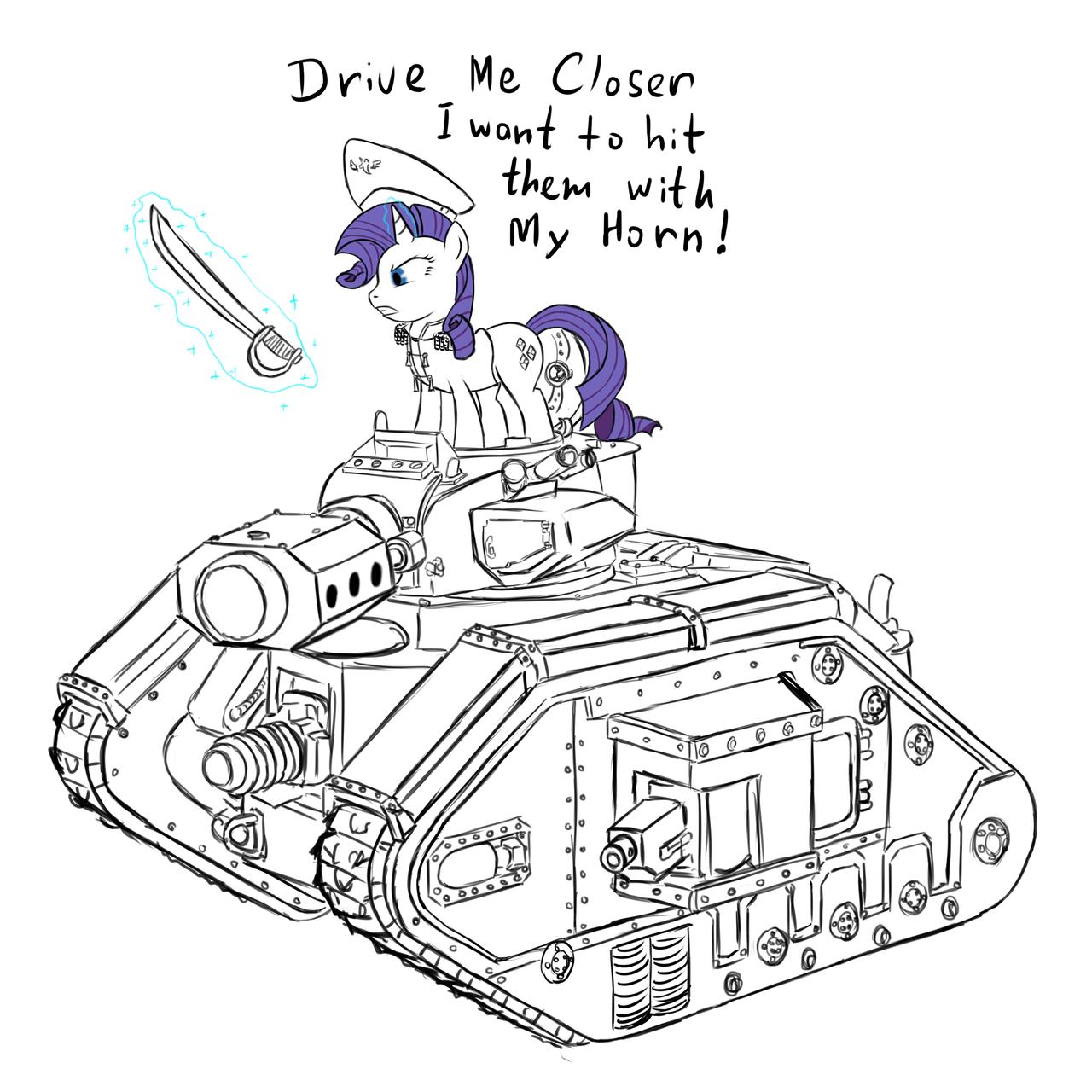 Tank Commisar Rarity by RidingEngenere