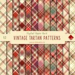 Vintage Tartan Digital Paper