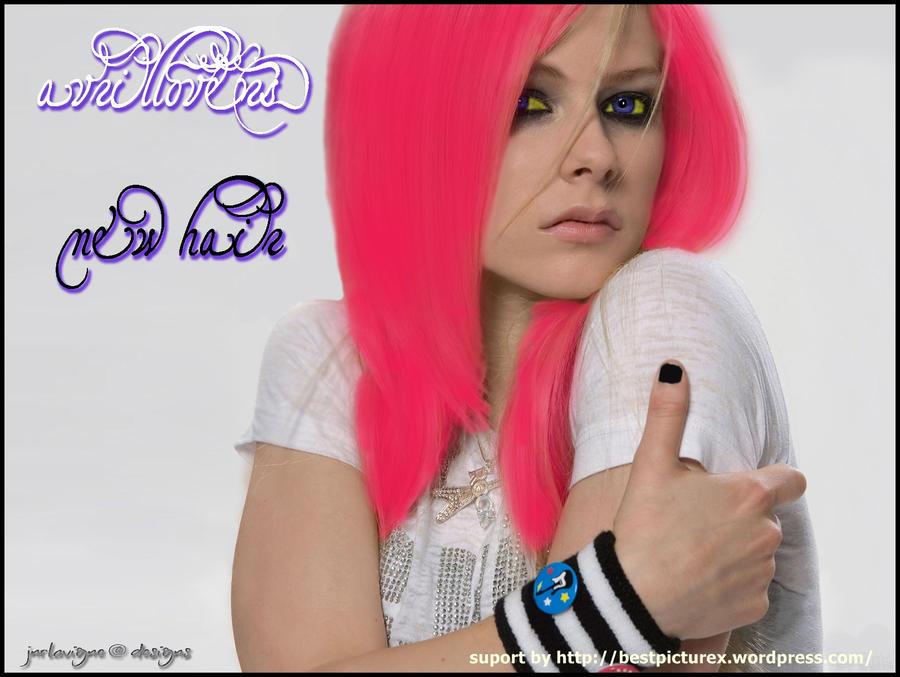 Avril Lavigne New Hair by ~bestpicturex on deviantART