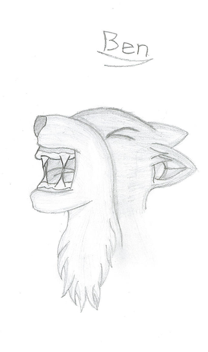 a wolf  aroo  by bowser