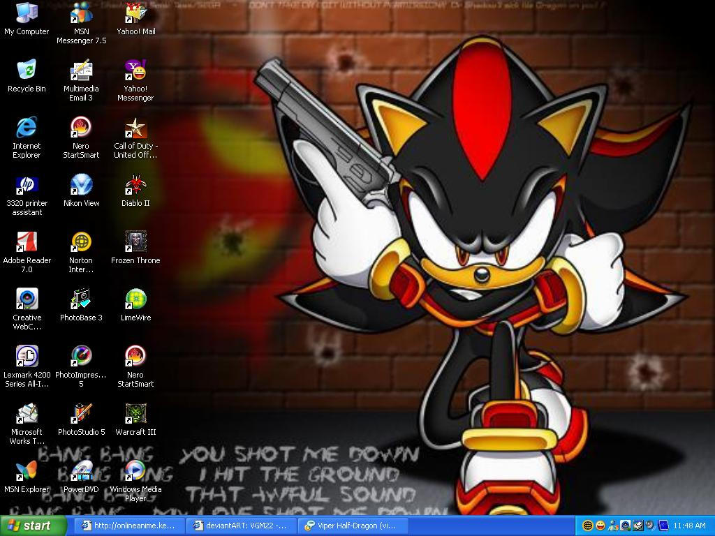 Another Sceenshot Of Desktop by VGM22
