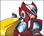 Megaman X Zero by Draquo