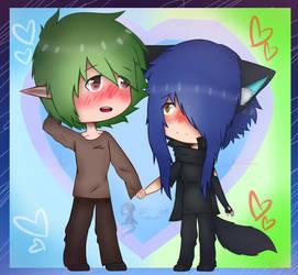 Shy Boyfriend (my ship)