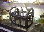 Treasure chest cage