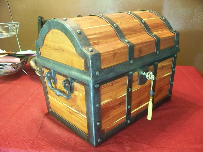 Cedar Pirate Chest by Craftsman107 on DeviantArt