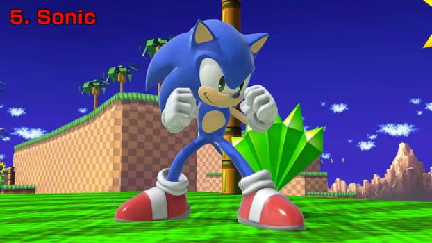 TheTodStar's Smash Ultimate Top 5 - Sonic