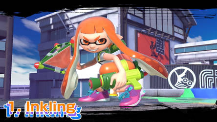 TheTodStar's Smash Ultimate Top 5 - Inkling