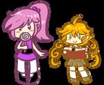Chibi sisters