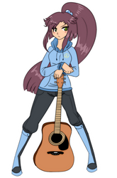Scarlett's Guitar by Rumay-Chian