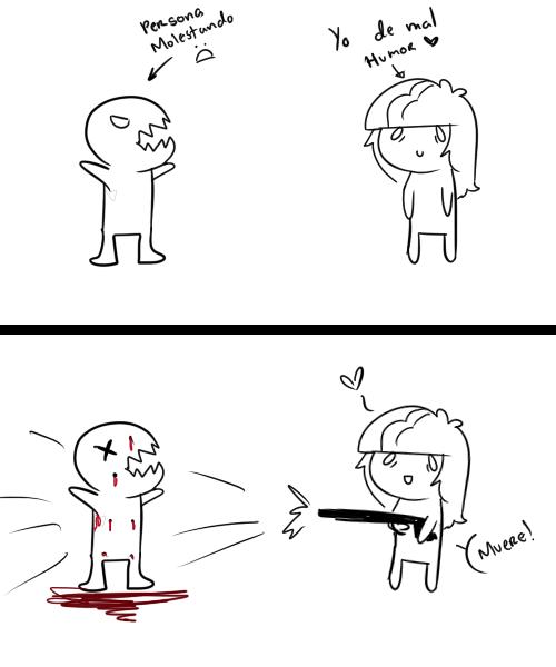 Cuando estoy de mal humor... by Rumay-Chian