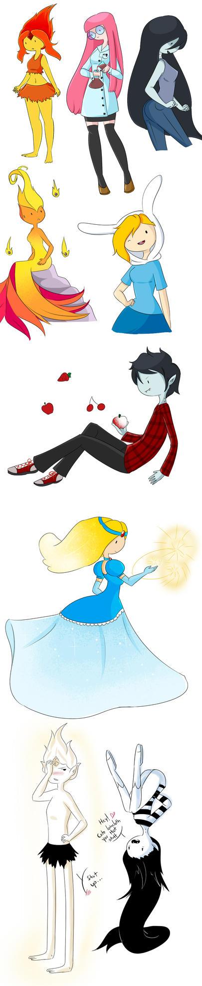 AT doodles 2.0 by Rumay-Chian