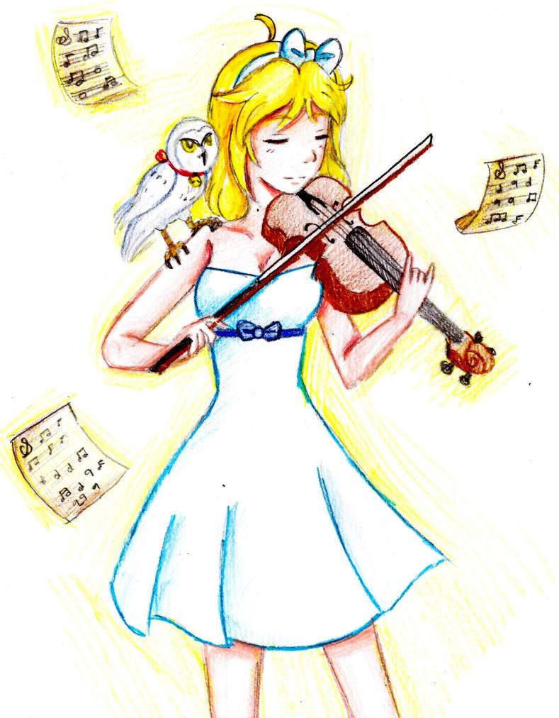 Violin - Zoe by Rumay-Chian