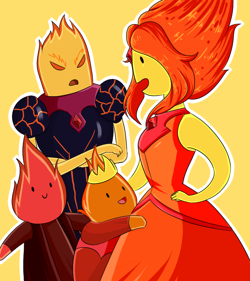 Flame siblings by Rumay-Chian