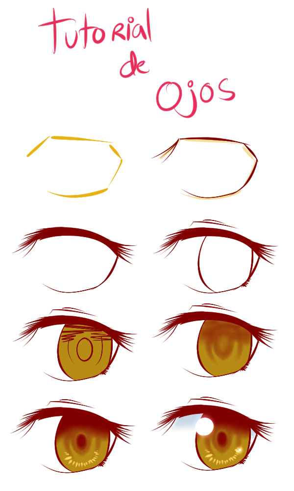 Tutorial de Ojos by Rumay-Chian on DeviantArt