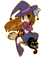 Halloween Chibi by Rumay-Chian