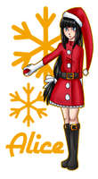[AA] Alice on santa's costume by Rumay-Chian