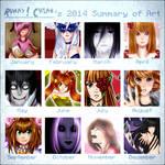 2014 Art Summary - Rumay-chian