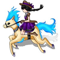 [AA] Alice the cowgirl! by Rumay-Chian