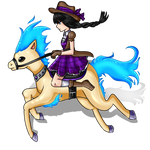 [AA] Alice the cowgirl!