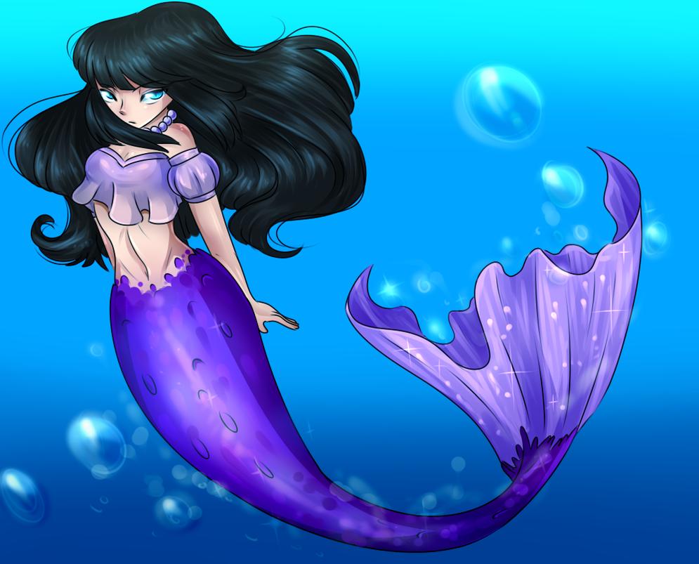 AA] Sirena Morada by Rumay-Chian on DeviantArt