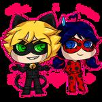 ChatNoir and LadyBug