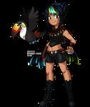 [YCH] Trainer Girl - Bird Keeper Mariana by Rumay-Chian