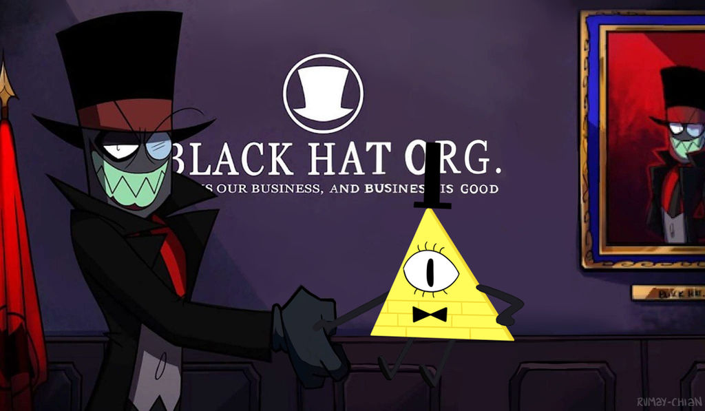 0106ce2635d Black Hat and Bill Cipher by Rumay-Chian on DeviantArt