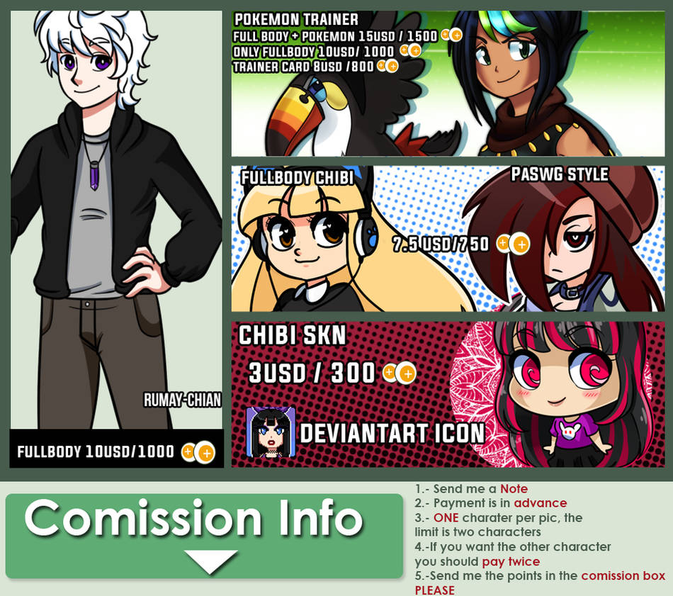 Summer - Comission Info