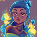 #Drawthisinyourstyle Destiny Blue by Rumay-Chian