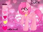 Dokie pony version ref sheet