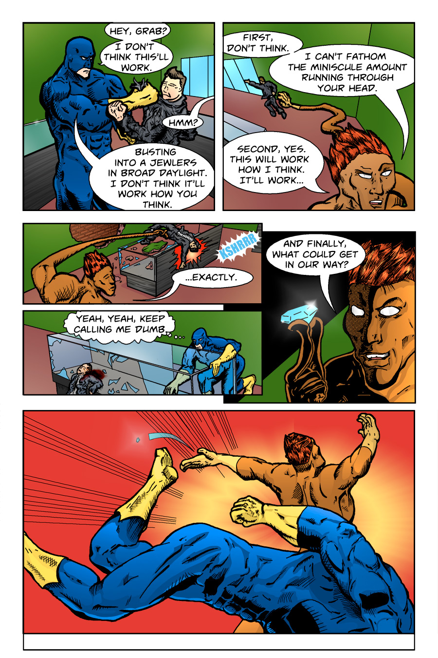 Defenders of the Gene, Page 2