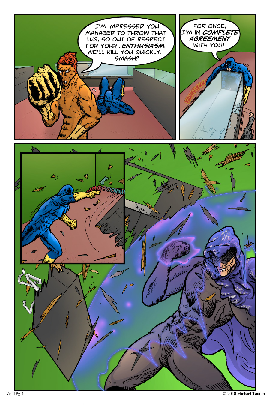 Defenders of the Gene, Page 4