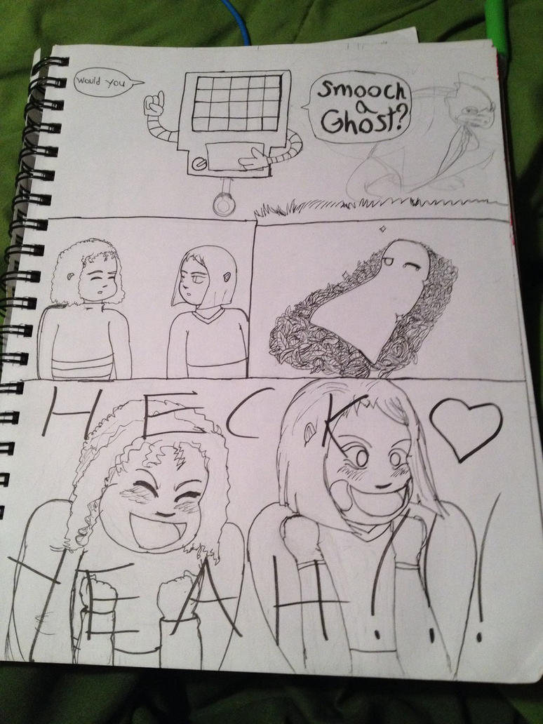 (Not finished) Would you smooch a Ghost? by Queenofotakus